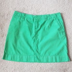 Lilly Pulitzer green skirt